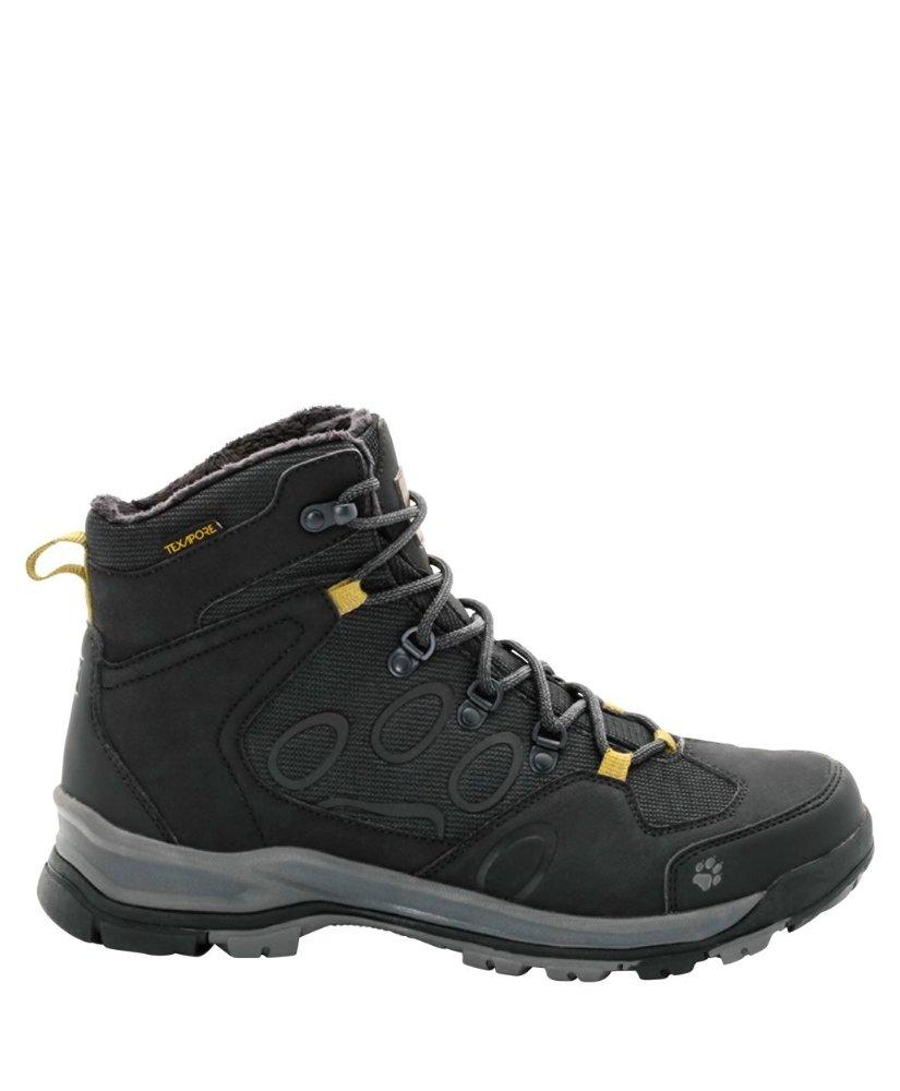 224986d0750 Мужские утепленные ботинки JACK WOLFSKIN COLD TERRAIN TEXAPORE MID M BLACK,  ...