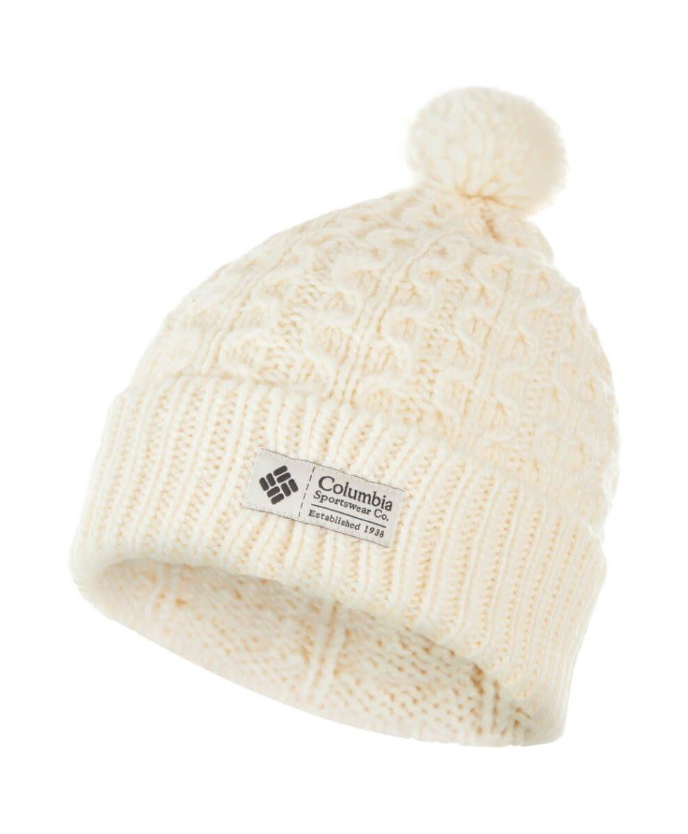f098a44acb681b Шапка Columbia Hideaway Haven Beanie Hat молочная - купить в ...
